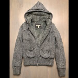 If It Were Me Sweater zip up cardigan. Size S